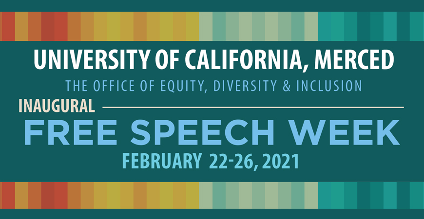 Free Speech Week kicks off Monday, Feb. 22.