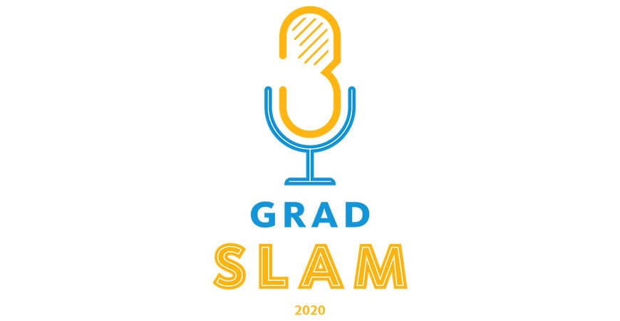 Grad Slam showcases and awards the best three-minute research presentations by graduate students.